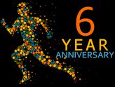 6 Year Celebration on WordPress