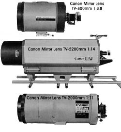 The Three Biggest Canon Lens