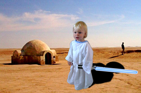 Andrew Skywalker on Tatooine
