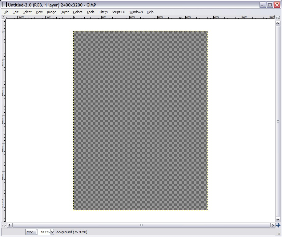 gimp tutorial creating a template for redbubble shirts being online
