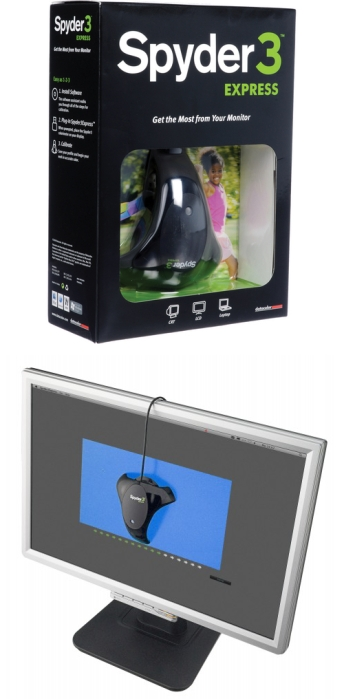 Spyder3 Express - Box and Monitor