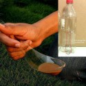 Plastic Bottle Becomes a Spoon