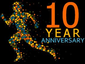 10 Year Celebration on WordPress
