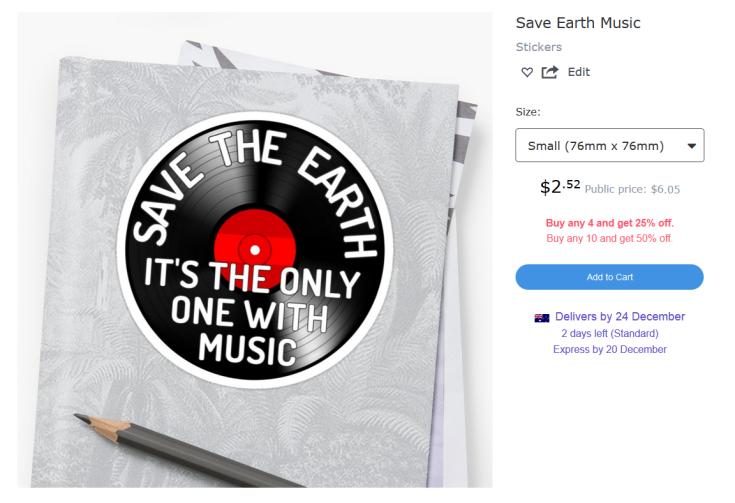 earth-music-sticker