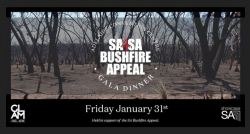SA4SA Bushfire Appeal Advert