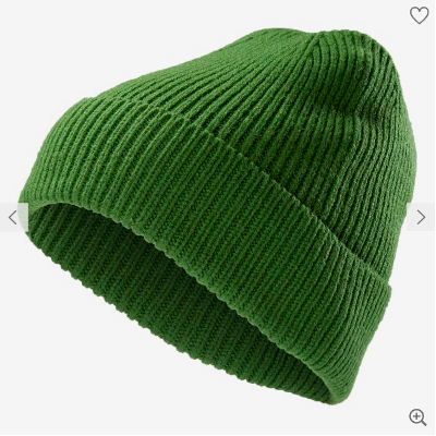 Green Woolen Beanie