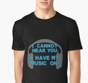 Cannot Hear You, Music On!