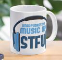 Headphones On, Music Up - STFU