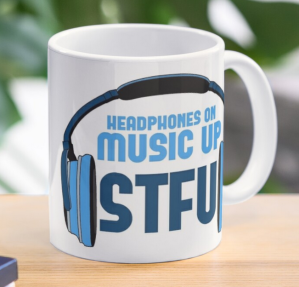 Headphones On, Music Up - STFU